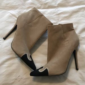 Forever21 Brown Stiletto Booties